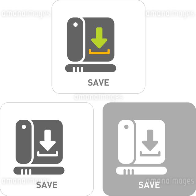 Storage Pictogram Iconsのイラスト素材 [FYI03101785]