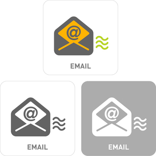 E-mail Pictogram Iconsのイラスト素材 [FYI03101786]