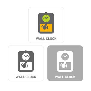 Wall Pictogram Iconsのイラスト素材 [FYI03101788]