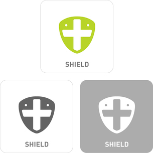 Shield Pictogram Iconsのイラスト素材 [FYI03101814]