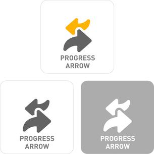 Arrow Pictogram Iconsのイラスト素材 [FYI03101816]