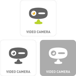 Video camera Pictogram Iconsのイラスト素材 [FYI03101818]