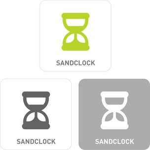 Sand glass Pictogram Iconsのイラスト素材 [FYI03101821]