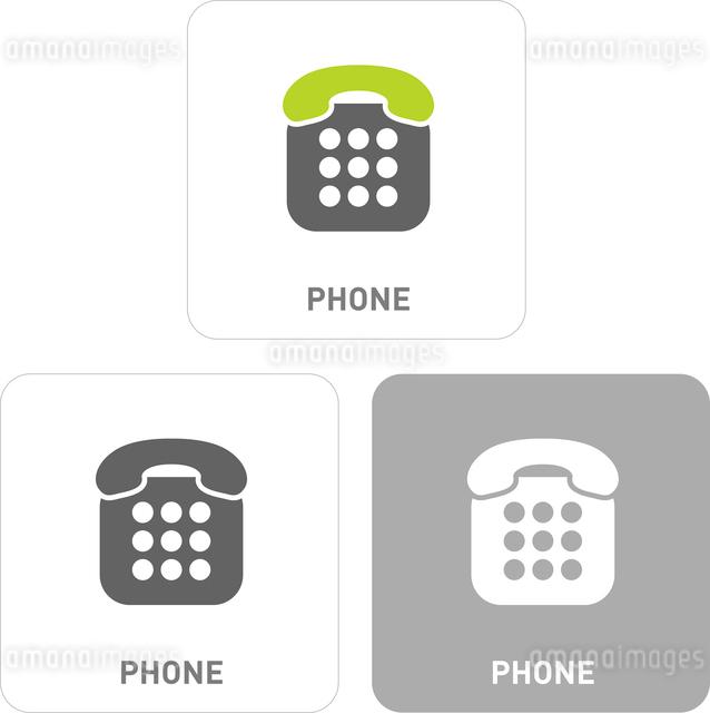 Phone Pictogram Iconsのイラスト素材 [FYI03101827]