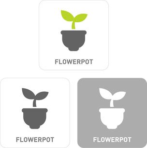 Pollen Pictogram Iconsのイラスト素材 [FYI03101830]