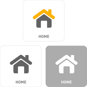 House and home Pictogram Iconsのイラスト素材 [FYI03101832]