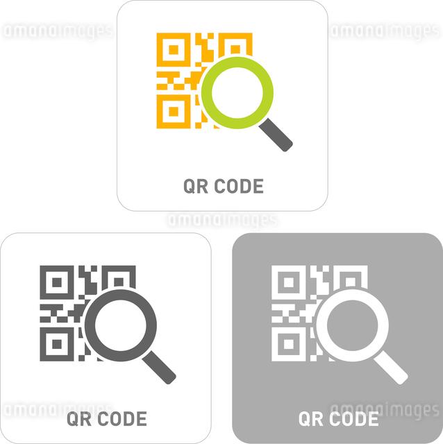 QR Code Pictogram Iconsのイラスト素材 [FYI03101835]