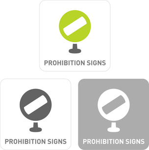 Prohibited Signs Pictogram Iconsのイラスト素材 [FYI03101842]