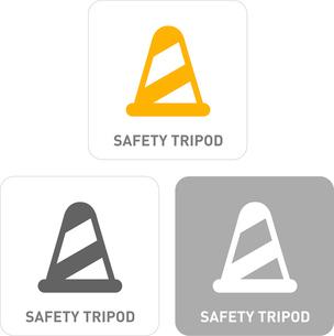 Safety Tripod Pictogram Iconsのイラスト素材 [FYI03101843]