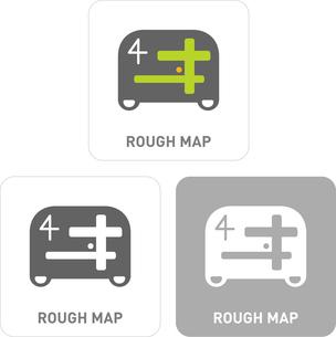 Directions Pictogram Iconsのイラスト素材 [FYI03101847]