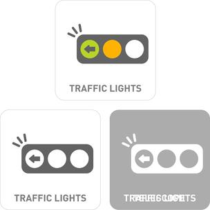 Traffic Light Pictogram Iconsのイラスト素材 [FYI03101849]