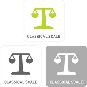 Scales Pictogram Iconsのイラスト素材 [FYI03101854]