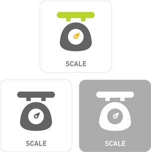 Scales Pictogram Iconsのイラスト素材 [FYI03101855]