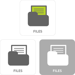 File Pictogram Iconsのイラスト素材 [FYI03101862]