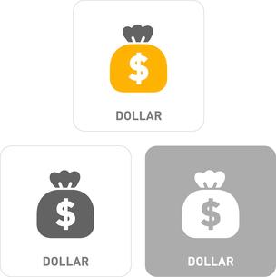 Dollar Pictogram Iconsのイラスト素材 [FYI03101863]