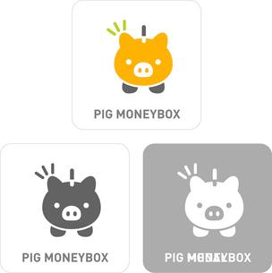 Piggy Bank Pictogram Iconsのイラスト素材 [FYI03101866]