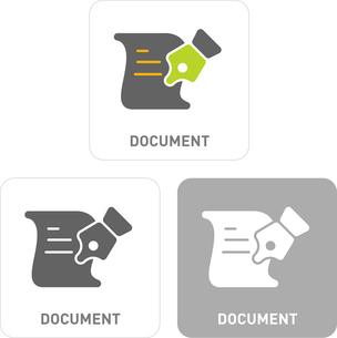 Document Pictogram Iconsのイラスト素材 [FYI03101870]