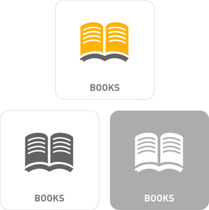 Book Pictogram Iconsのイラスト素材 [FYI03101875]