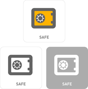 Safe Pictogram Iconsのイラスト素材 [FYI03101878]