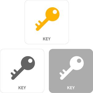 Key Pictogram Iconsのイラスト素材 [FYI03101880]