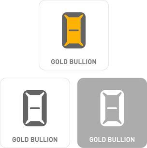 Bullion Pictogram Iconsのイラスト素材 [FYI03101881]