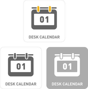 Calendars Pictogram Iconsのイラスト素材 [FYI03101886]