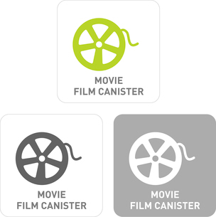 Movie Film Pictogram Iconsのイラスト素材 [FYI03101890]