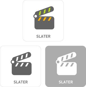 Slate Pictogram Iconsのイラスト素材 [FYI03101891]
