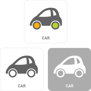 Car Pictogram Iconsのイラスト素材 [FYI03101900]