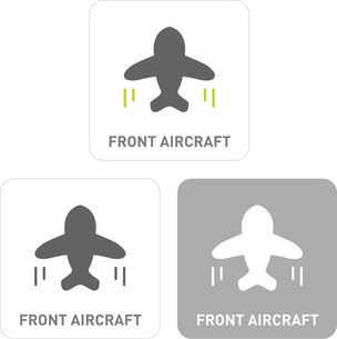 Passenger Pictogram Iconsのイラスト素材 [FYI03101908]