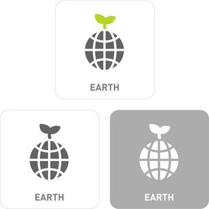 Earth Pictogram Iconsのイラスト素材 [FYI03101912]