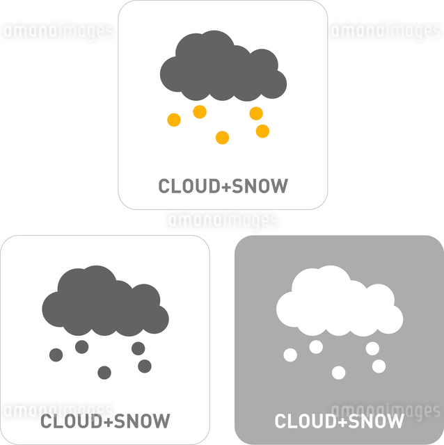 Snow Pictogram Iconsのイラスト素材 [FYI03101924]