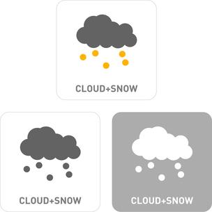 Snow Pictogram Iconsのイラスト素材 [FYI03101924]