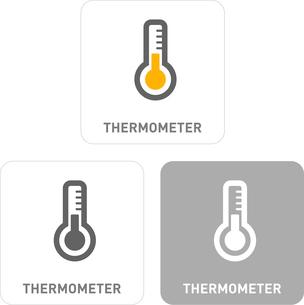Temperature Pictogram Iconsのイラスト素材 [FYI03101925]