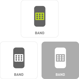Band Pictogram Iconsのイラスト素材 [FYI03101930]