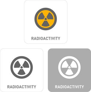 Radiation Pictogram Iconsのイラスト素材 [FYI03101931]