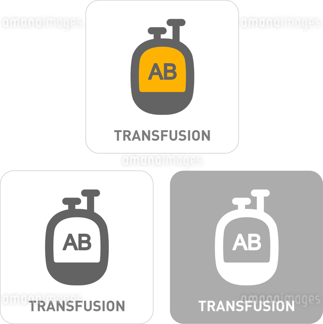 Transfusion Pictogram Iconsのイラスト素材 [FYI03101942]