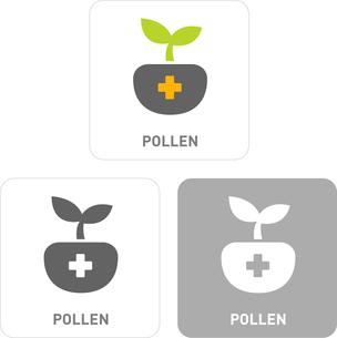 Pollen Pictogram Iconsのイラスト素材 [FYI03101947]