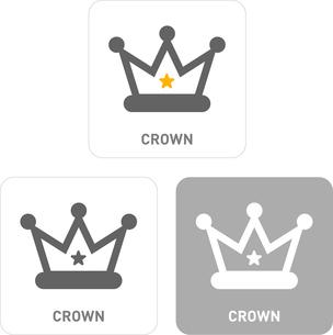 Crown Pictogram Iconsのイラスト素材 [FYI03101949]