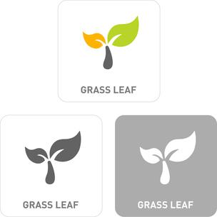 Leaves Pictogram Iconsのイラスト素材 [FYI03101955]
