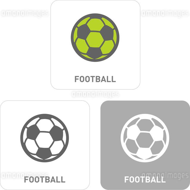 Football Pictogram Iconsのイラスト素材 [FYI03101979]