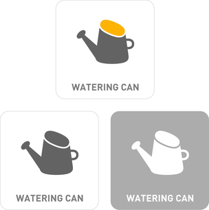 Sprinkling can Pictogram Iconsのイラスト素材 [FYI03101995]