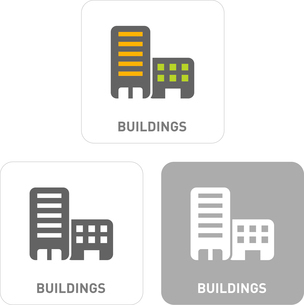 Building Pictogram Iconsのイラスト素材 [FYI03102003]