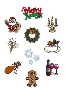 クリスマス2のイラスト素材 [FYI03102136]
