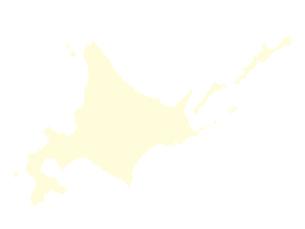 都道府県ポリゴン地図EPS北海道(境界無)のイラスト素材 [FYI03102240]