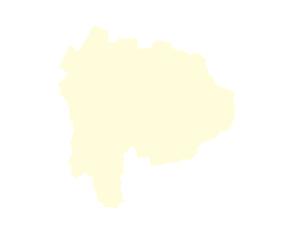 都道府県ポリゴン地図EPS山梨県(境界無)のイラスト素材 [FYI03102248]