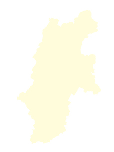 都道府県ポリゴン地図EPS長野県(境界無)のイラスト素材 [FYI03102249]