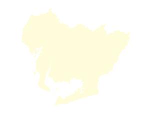 都道府県ポリゴン地図EPS愛知県(境界無)のイラスト素材 [FYI03102251]
