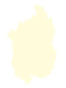 都道府県ポリゴン地図EPS滋賀県(境界無)のイラスト素材 [FYI03102256]
