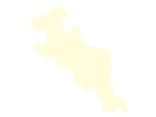 都道府県ポリゴン地図EPS京都府(境界無)のイラスト素材 [FYI03102257]